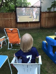We get them started early...Go Irish!
