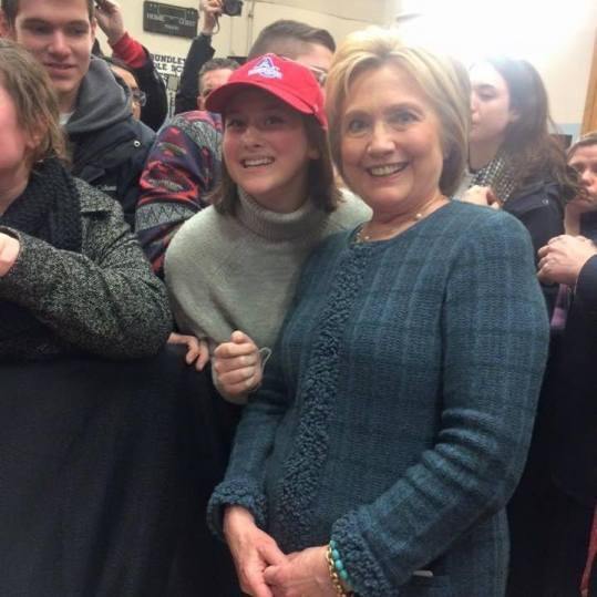 Joni and Hillary